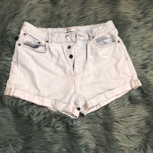 Forever 21 Cuffed Mid-Rise Shorts